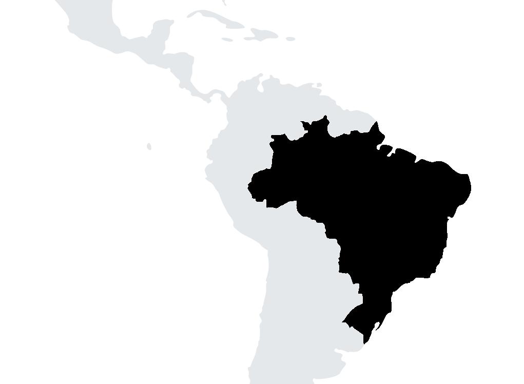 map Brésil