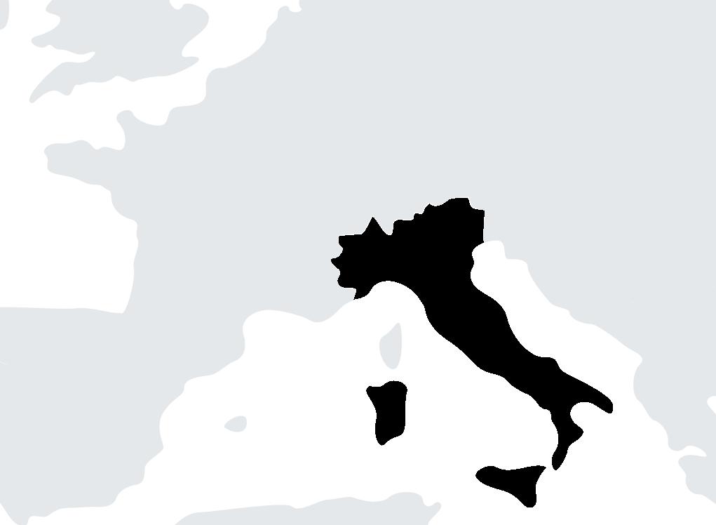 map Italie