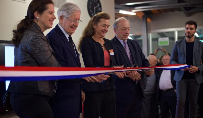 Inauguration bâtiment Louis Vicat