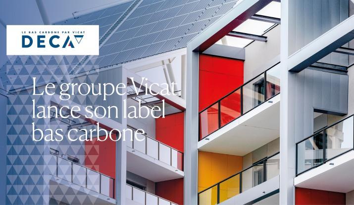 Vicat group's low-carbon label DECA