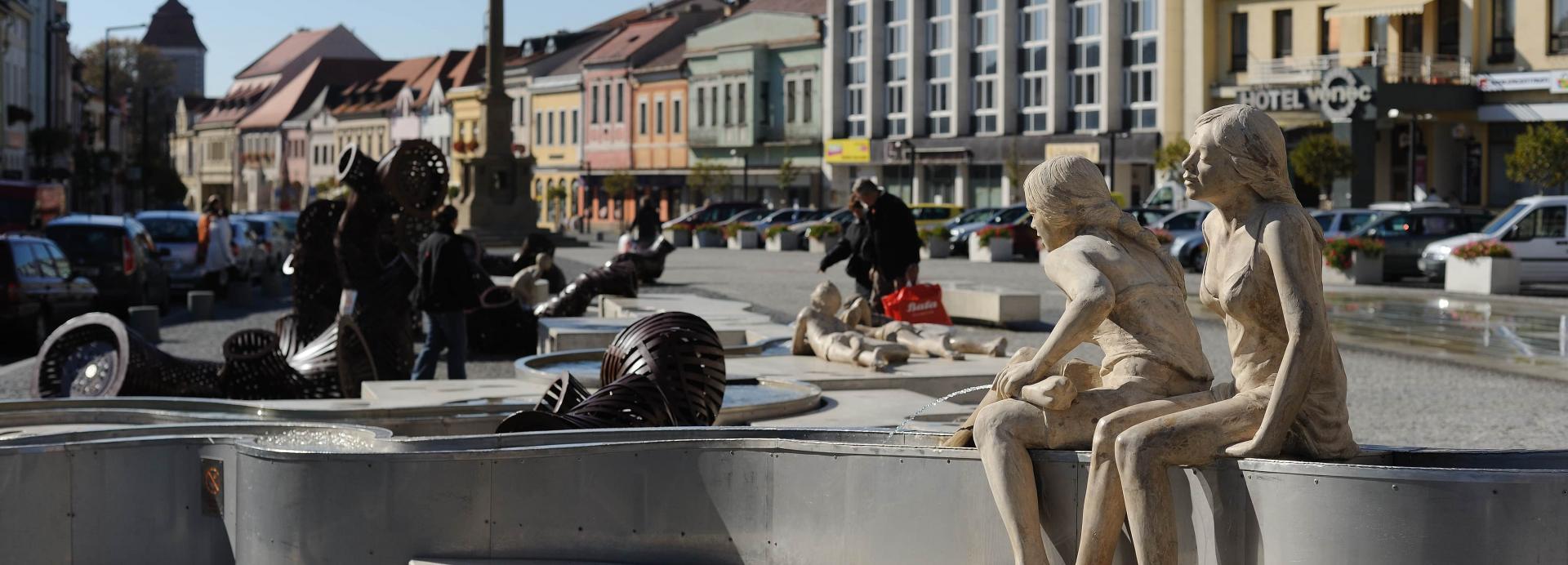 Chantier fontaine de Mlada Boleslav