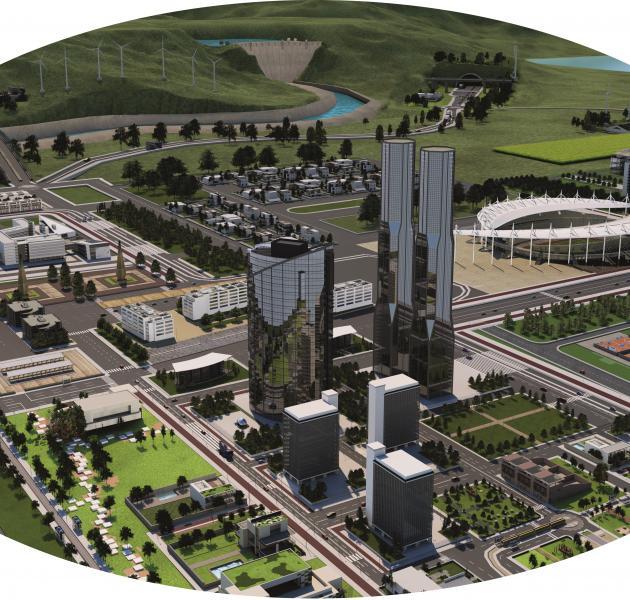 tertiary buildings construction Vicat