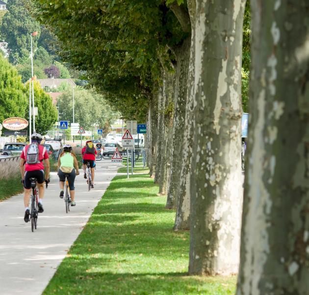 pistes cyclables béton