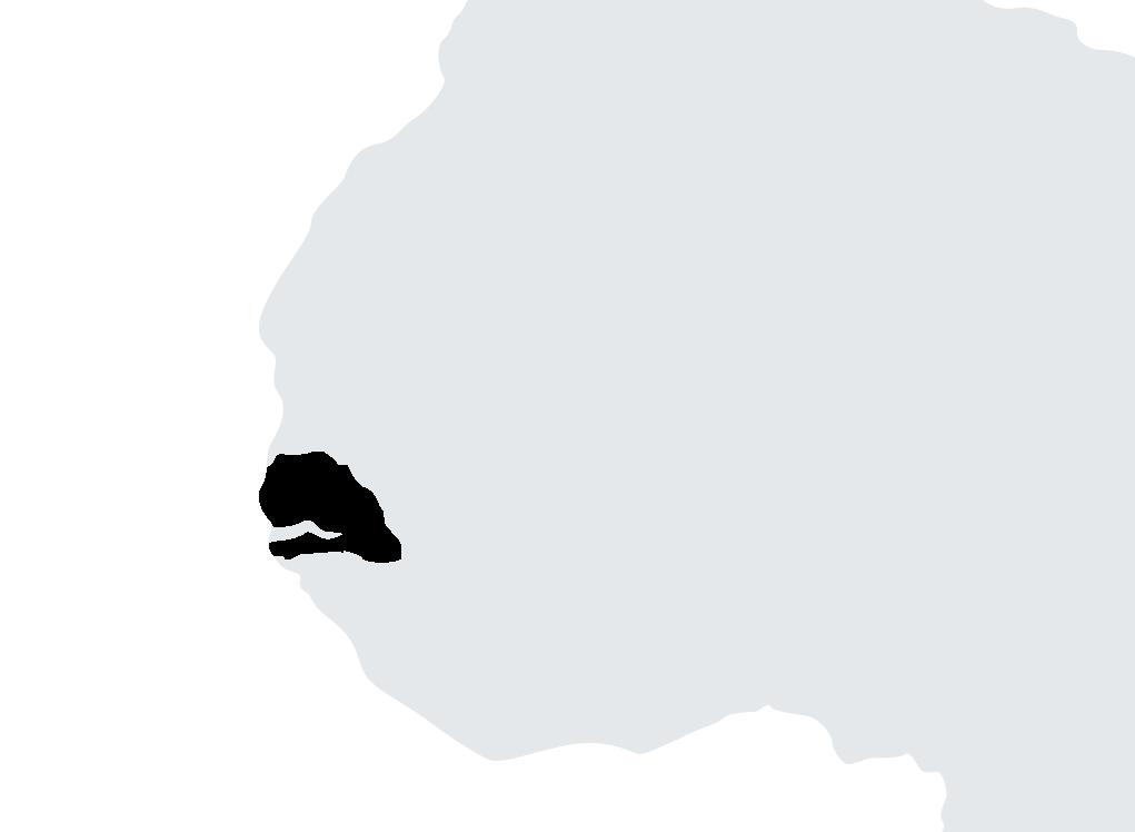 Map Sénégal